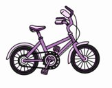 Coloring page Bicycle for children painted byrandol9572