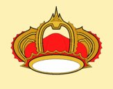 Coloring page Royal crown painted byAnia