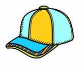 Coloring page Sport cap painted byrakerosh4