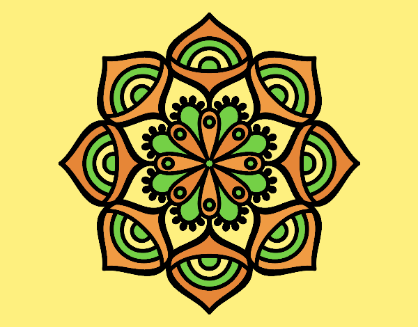 Mandala exponential growth