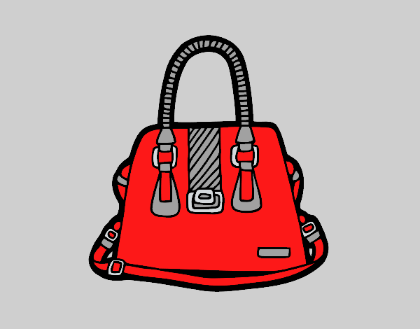 Handbag with handles
