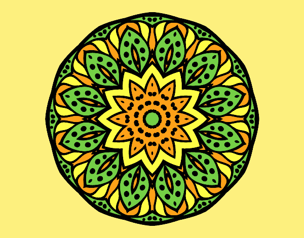 Mandala of nature