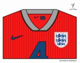 Coloring page England World Cup 2014 t-shirt painted byOwen