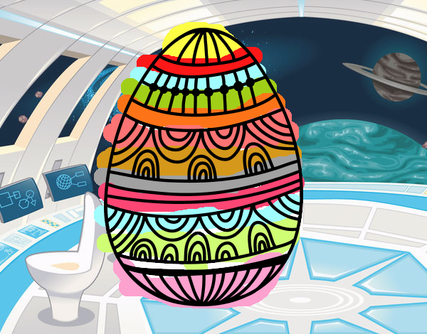 A decorated Easter Egg