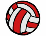 Coloring page Volleyball ball painted byholly1980
