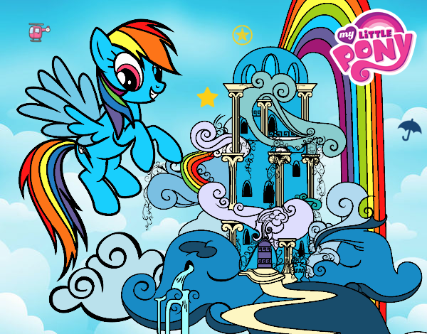 RAINBOW DASH'S HOUSE