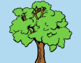 Coloring page Tree 1 painted byLornaAnia