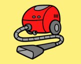 Coloring page A vacuum cleaner painted byLornaAnia