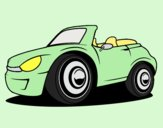 Coloring page New car painted byLornaAnia