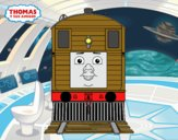 Toby from Thomas and friends