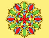 Coloring page Mandala 20 painted byLornaAnia