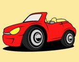 Coloring page New car painted byANIA2