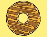 Coloring page Donut painted byLornaAnia