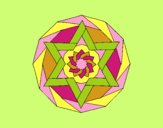 Coloring page Mandala 18 painted byLornaAnia