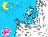 Princess Luna My Little Pony Coloring Page Coloringcrew Com