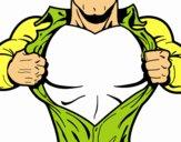 superhero chest coloring page coloringcrew com