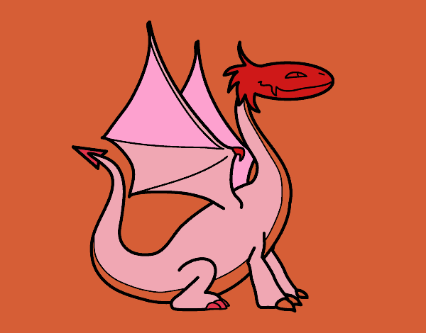 Mythological dragon
