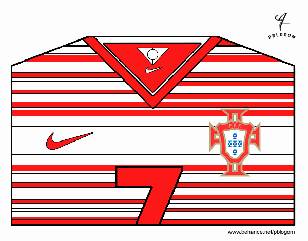 Portugal World Cup 2014 t-shirt