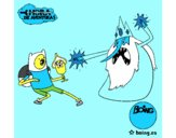 Ice King against Finn