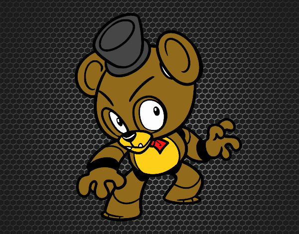 Toy Freddy from Five Nights at Freddy's