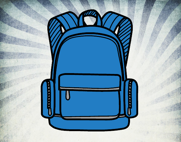 A school backpack