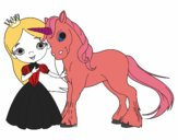 Unicorn and princess