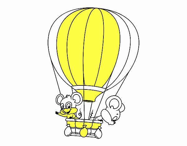 Mice in a balloon