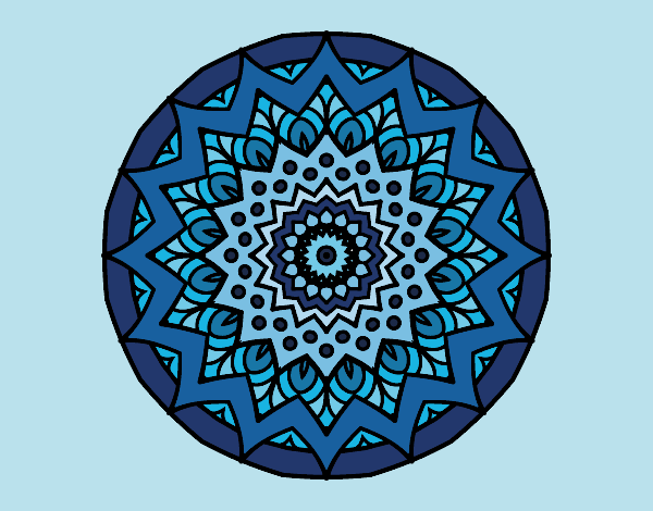 Growing mandala