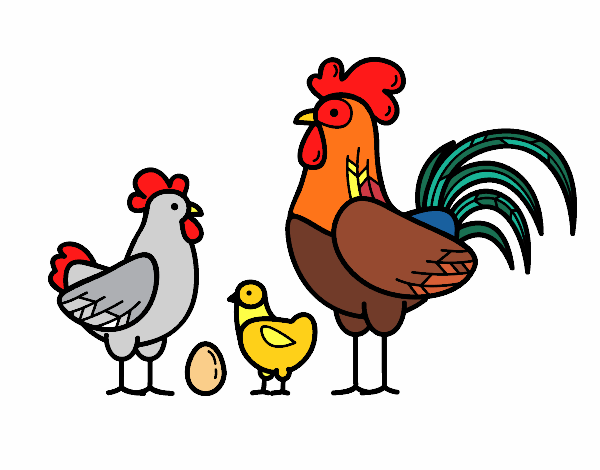 THE HEN FAMILY