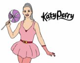 Katy Perry with lollipop