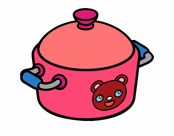 A cooking pot