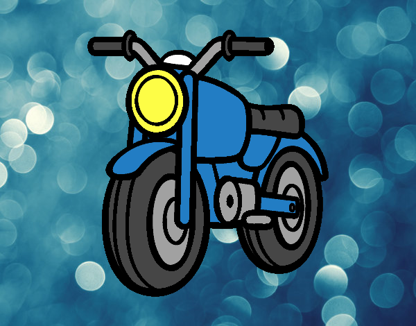 A moped