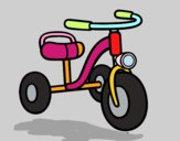 A children's tricycle
