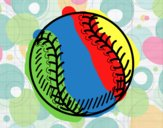 Ball of beisbol
