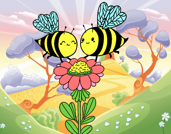 Couple of bees