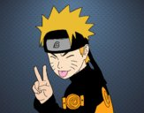 Naruto pulling out tongue