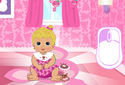 Play to Baby Room of the category Girl games