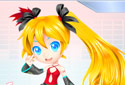 Play to Hatsune Miku Dress of the category Girl games