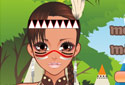 Play to Mohican girl of the category Girl games