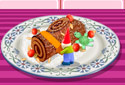 Play to Recipe: Yule log of the category Christmas games