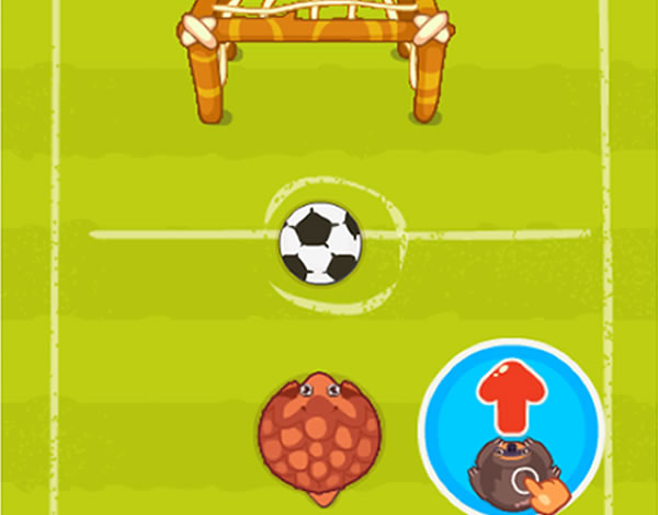 Play to The perfect penalty of the category Sport games